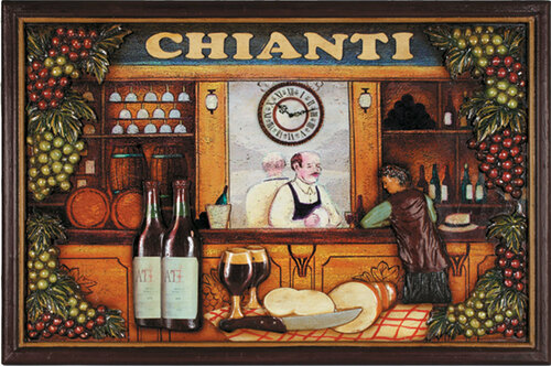 Chainti 3D Sign