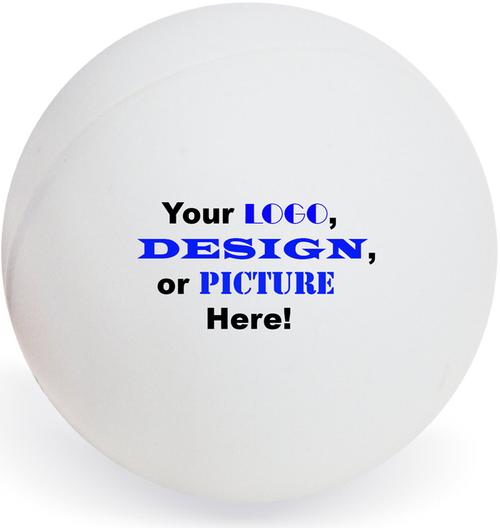 Custom Ping Pong Ball Personalized Image - 6 Ball Set