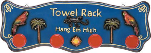 Towel Rack Outdoor Sign