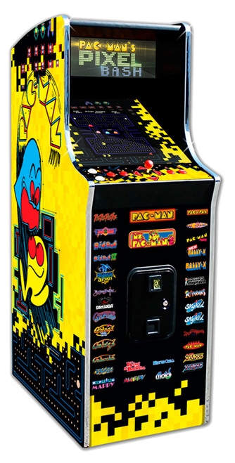 Pac-Man Pixel Bash Arcade Cabaret Home