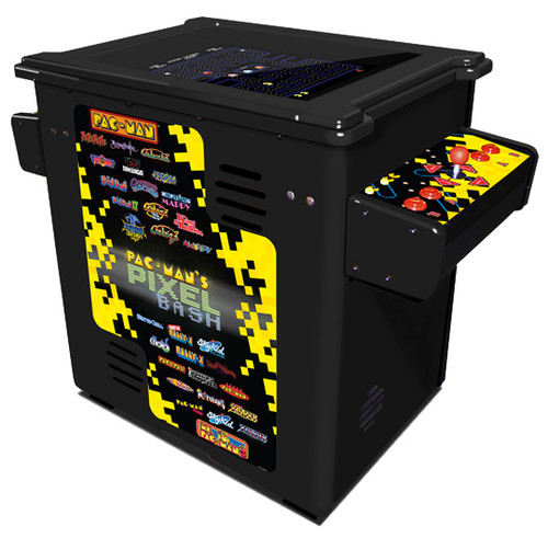 Pac-Man Pixel Bash Arcade Cocktail Black