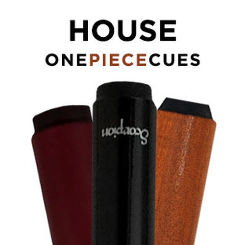 One Piece House Pool Cues - Selection and Price - Ozone