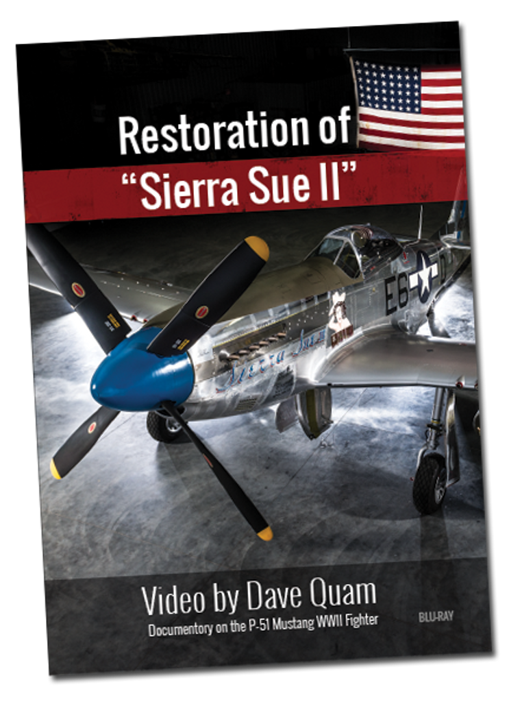 DVD - Restoration of Sierra Sue II - Documenatary