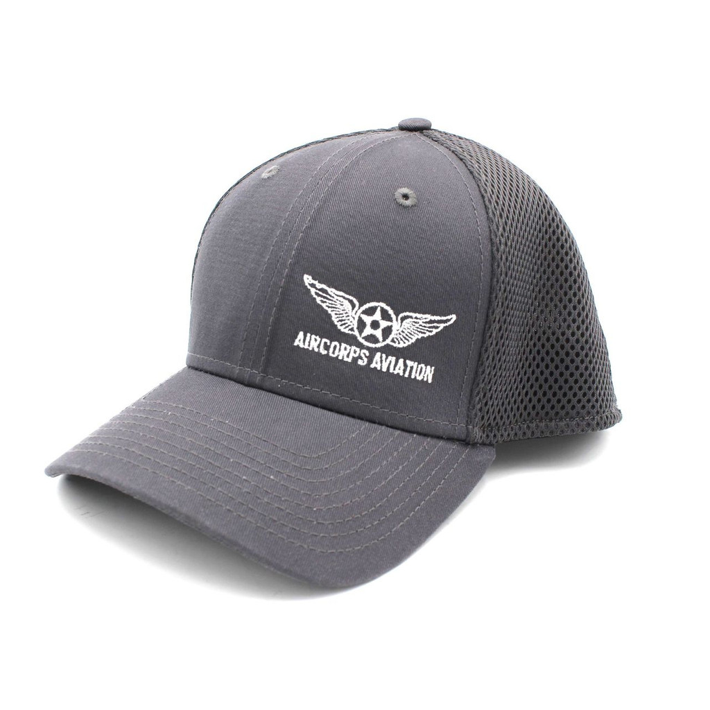 Charcoal Fitted Cap