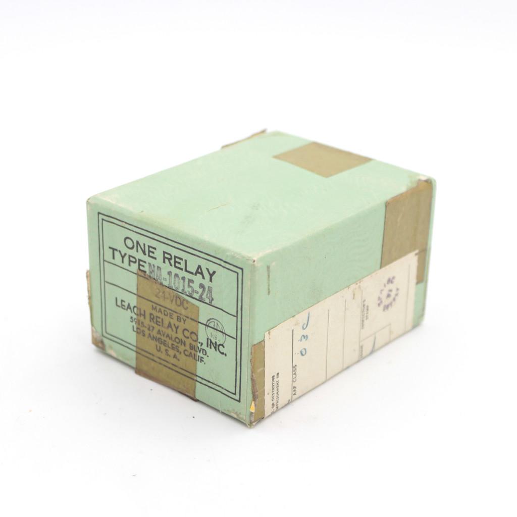 NA-1015-24 Leach Relay - NOS (Original Packaging)