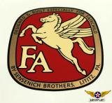 Fairchild Sensenich Prop Decal