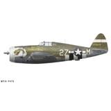 "P-47D Thunderbolt ""Touch of Texas"" Decorative Vinyl Decal"