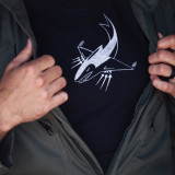 Lope's Hope 3rd  Pilot Edition Tee - Close up Front