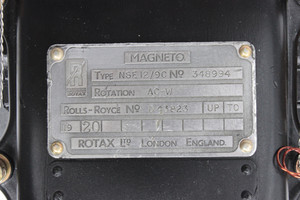 Rotax Magneto A-CW