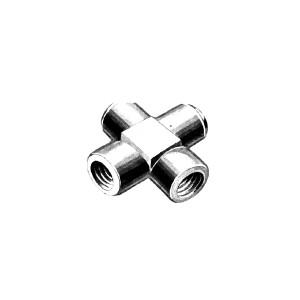 AN 925 Fitting - Cross - Internal Screw Thread