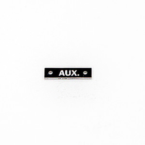 75-66-168-5 P-40 -  AUX NAMEPLATE ELECTRICAL SYSTEM