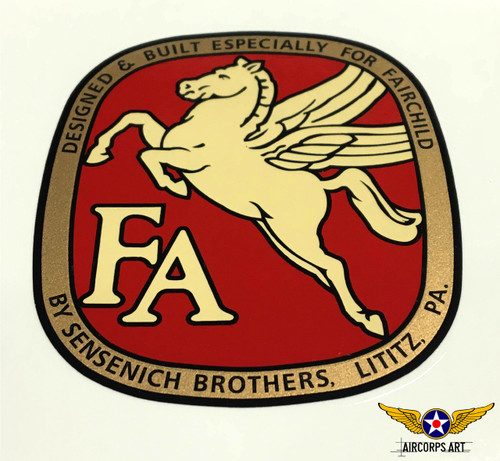 Fairchild Sensenich Prop Decal