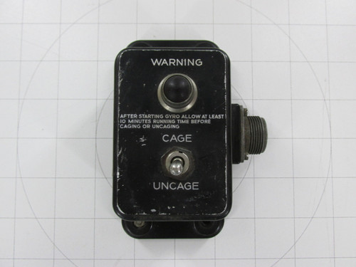 AN5756-1 Switch Box Gyro Flux Gate Compass B-17