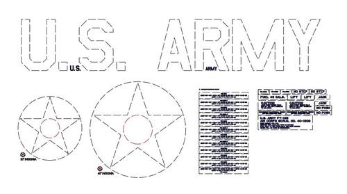 Stearman Exterior Markings  Kit