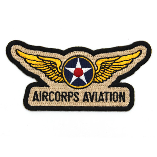 AirCorps Aviation Embroidered Patch
