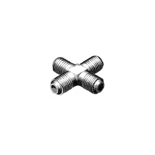 AN 827 Fitting - Cross - Flared Tube