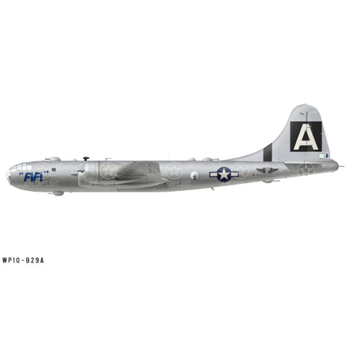 "B-29A Superfortress ""FIFI"" Decorative Vinyl Decal"