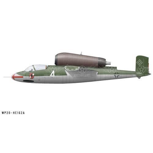 He 162A-2 Salamander Decorative Vinyl Decal