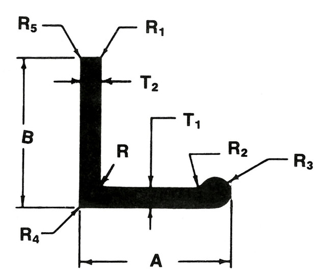 Extrusion - Bulbed Angle
