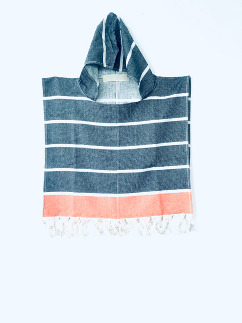 Terry Hooded Baby Ponchos. 100% Cotton.