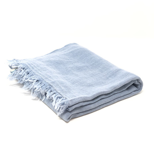 Vieques, Pareo, Sarong  in Denim Blue