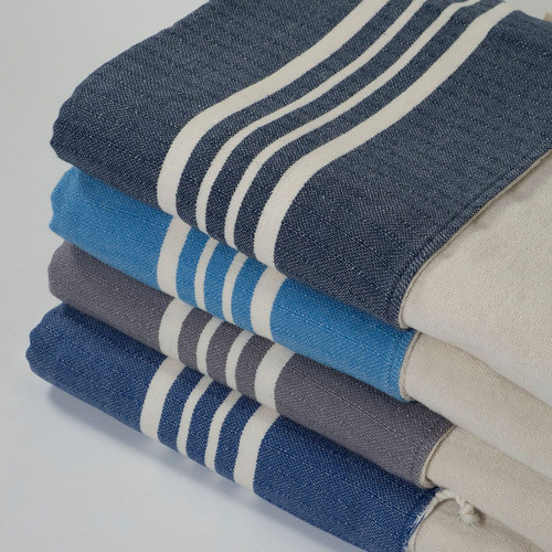 Ultra Soft Hand Loomed Terry Bath Towel