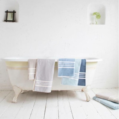 Ultra Soft Hand Loomed Terry Bath Towel