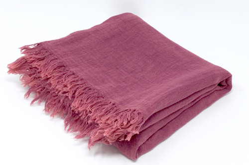 Vieques, Meditation Scarf  in Bordeaux
