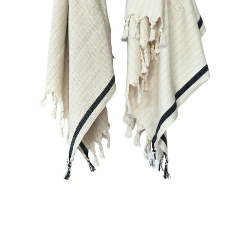 Tulum Beach  Natural Beach Towel Set