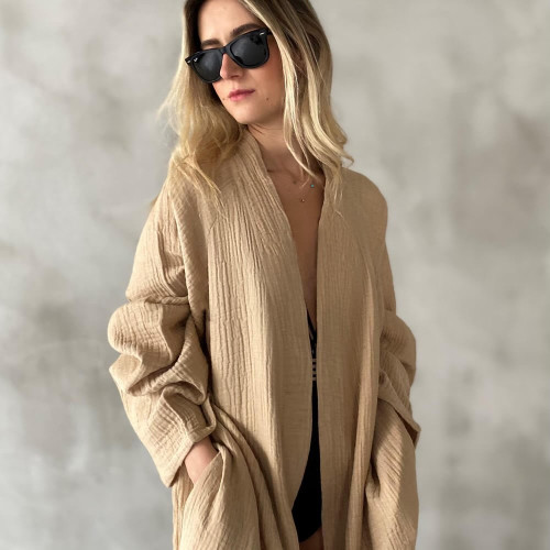 Cotton Fluffy Robe