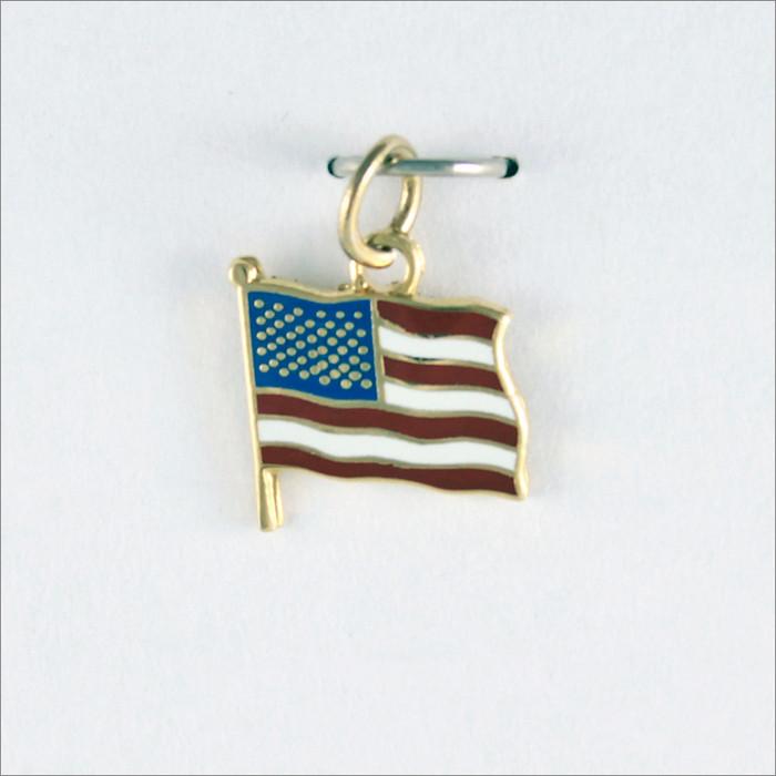 American Flag Dangle