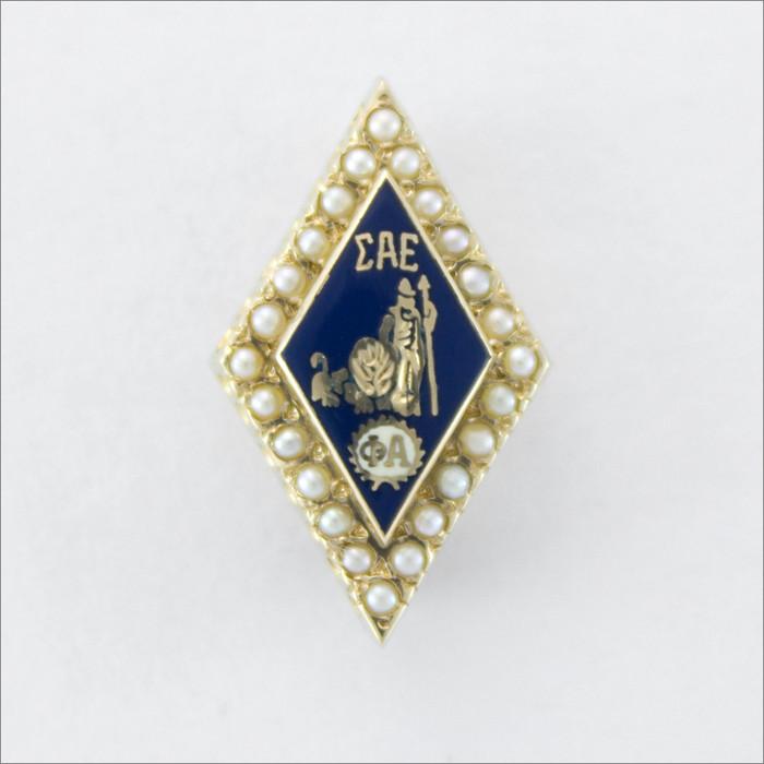 ΣΑΕ Crown Pearl Badge