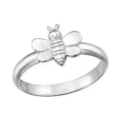 Children's Silver Bee Ring