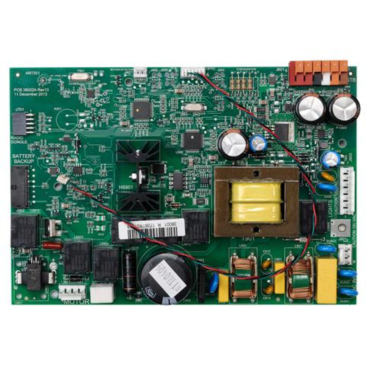 Replacement for Control Board for ChainMax 1000 InteliG 1000 38001R3.S Garage Genie 38874R3.S