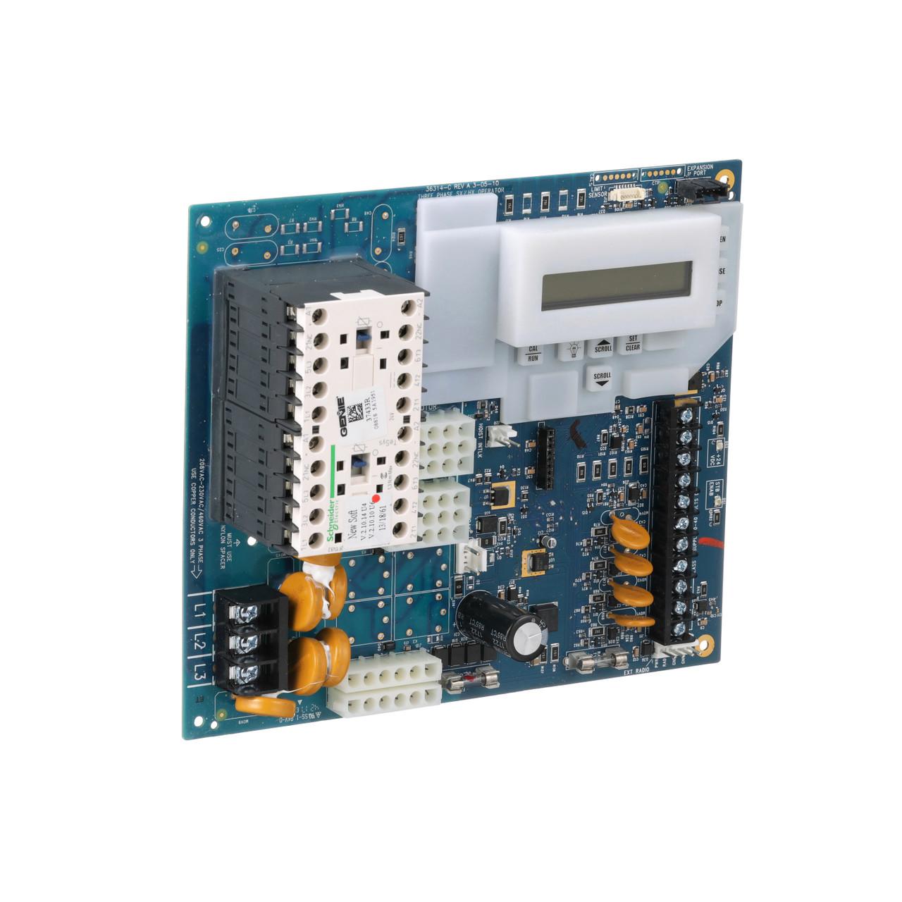 Circuit Board Rsx Amp Rhx 3 Phase 3 4hp Overhead Door Parts Online