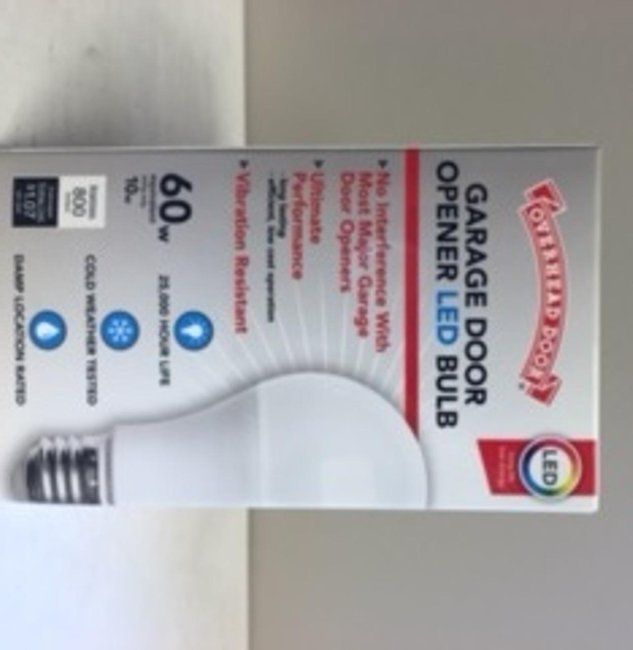 GARAGE DOOR OPENER LED LIGHT BULB (2 PACK)