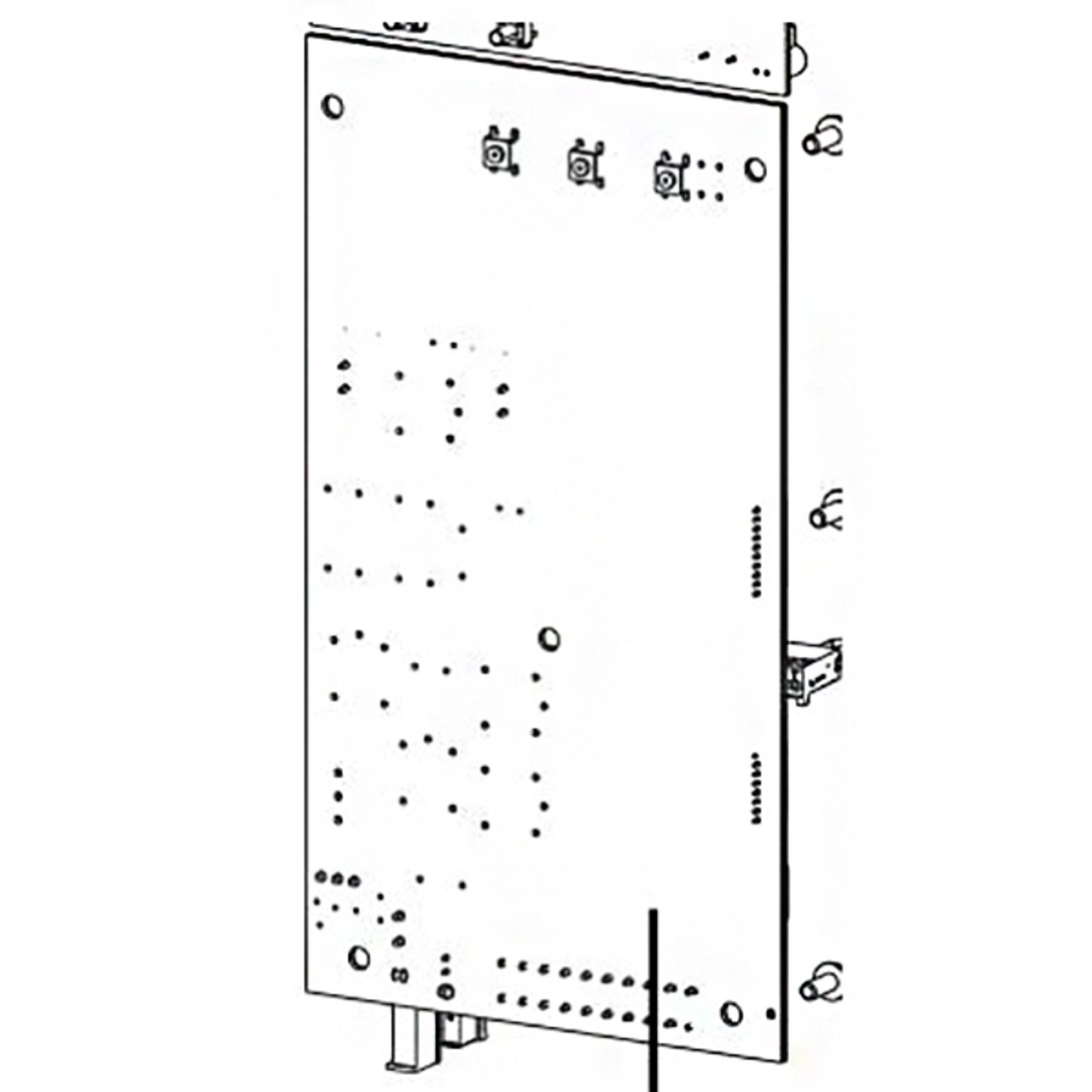 MAIN CONTROL BOARD - WALL MOUNT - 41181RS