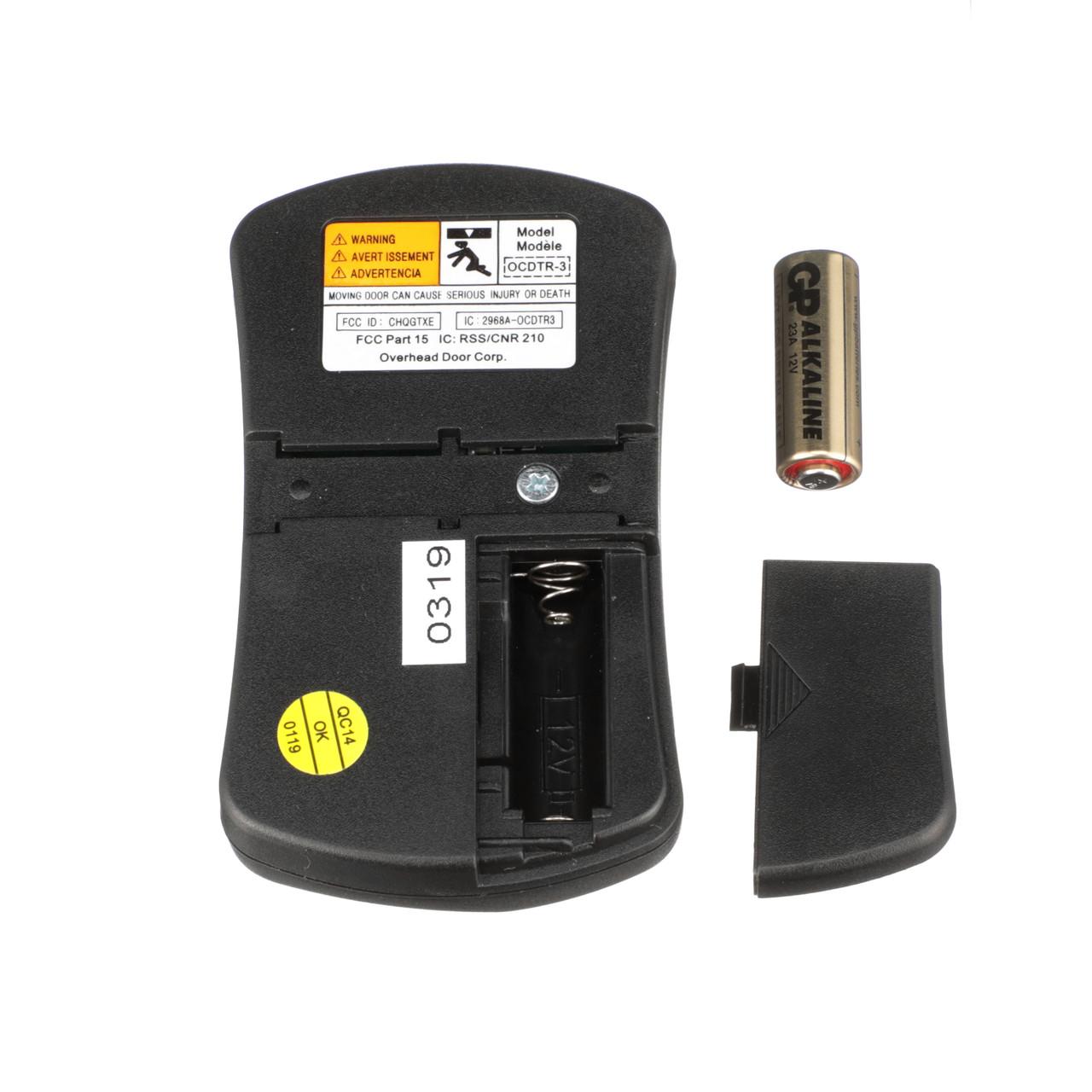 OVERHEAD DOOR REMOTE CONTROL, OCDTR-3, 37517R (FREE SHIPPING)