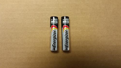 BATTERY - 1.5 volt AAA (SET OF 2)