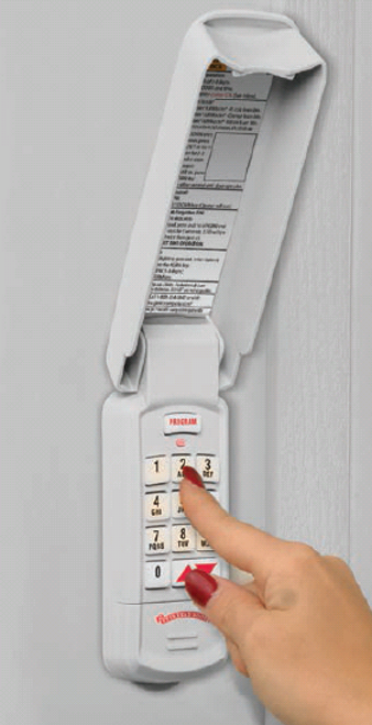 OVERHEAD DOOR UNIVERSAL KEYPAD - OUK-BX (FREE SHIPPING)