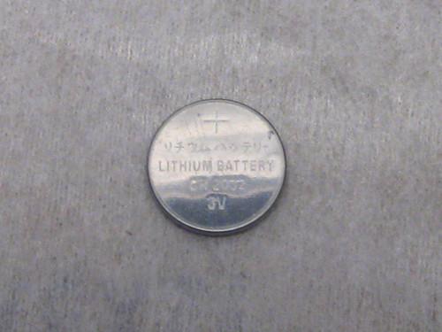 BATTERY - 3 volt Lithium