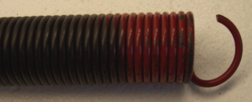 EXTENSION SPRING, 150LB - RED