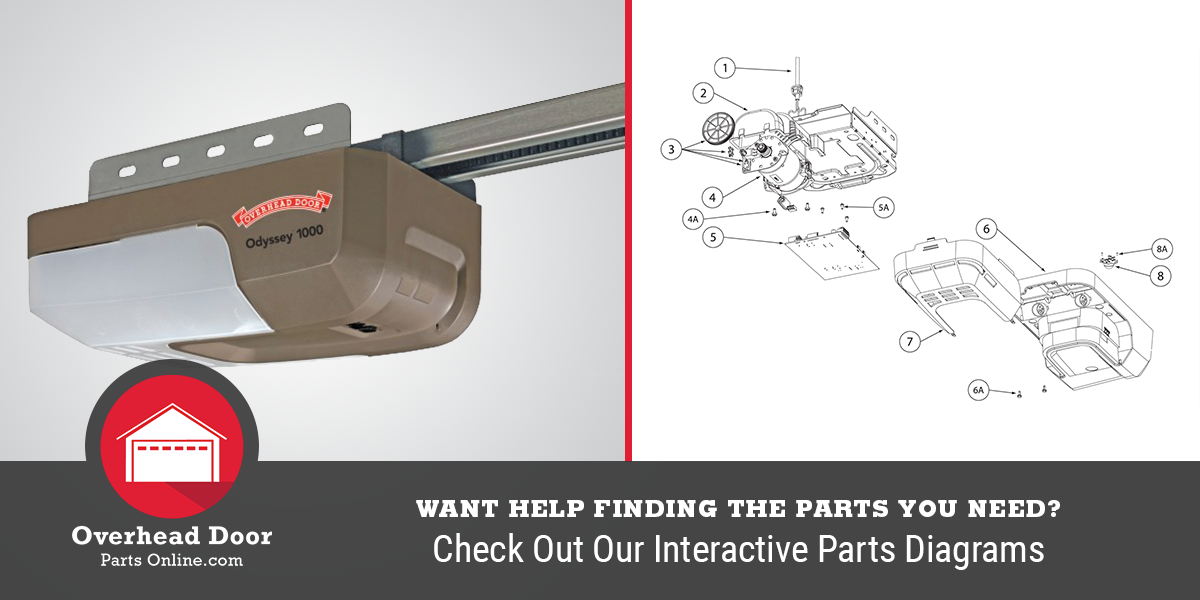 Want help finding the parts you need? Check out our interactive parts diagrams