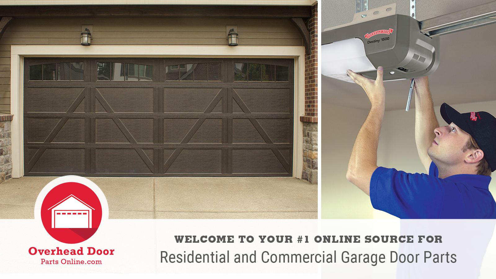 Welcome to your #1 online source for residential and commercial garage door parts