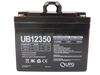 12V 35Ah - UB12350 - Front | Battery Specialist Canada