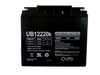 12 Volts 22Ah -Terminal Internal Thread - UB12220   Battery Specialist Canada