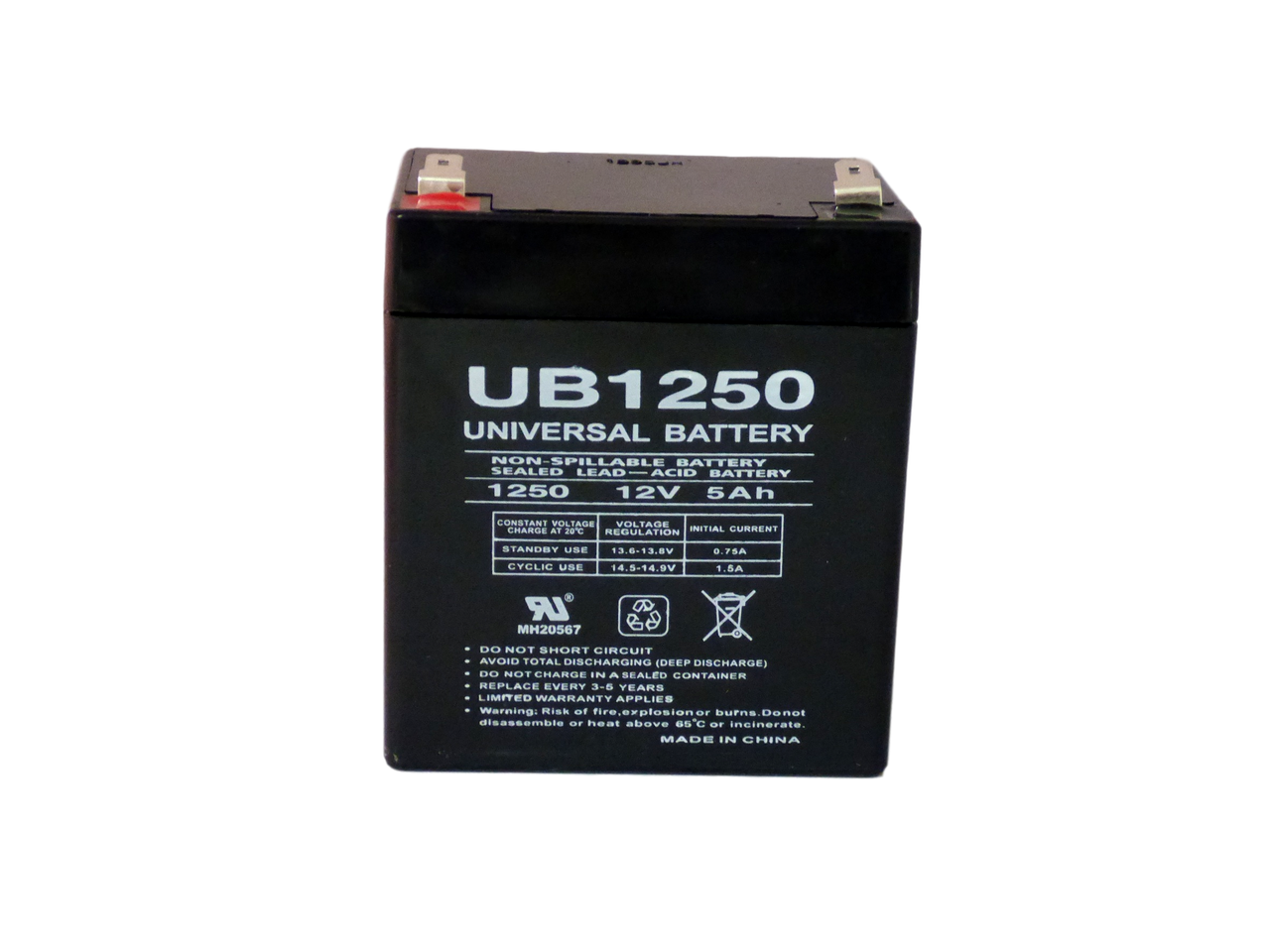 Rechargeable, high Rate IBM UPS1500TLV Replacement Battery