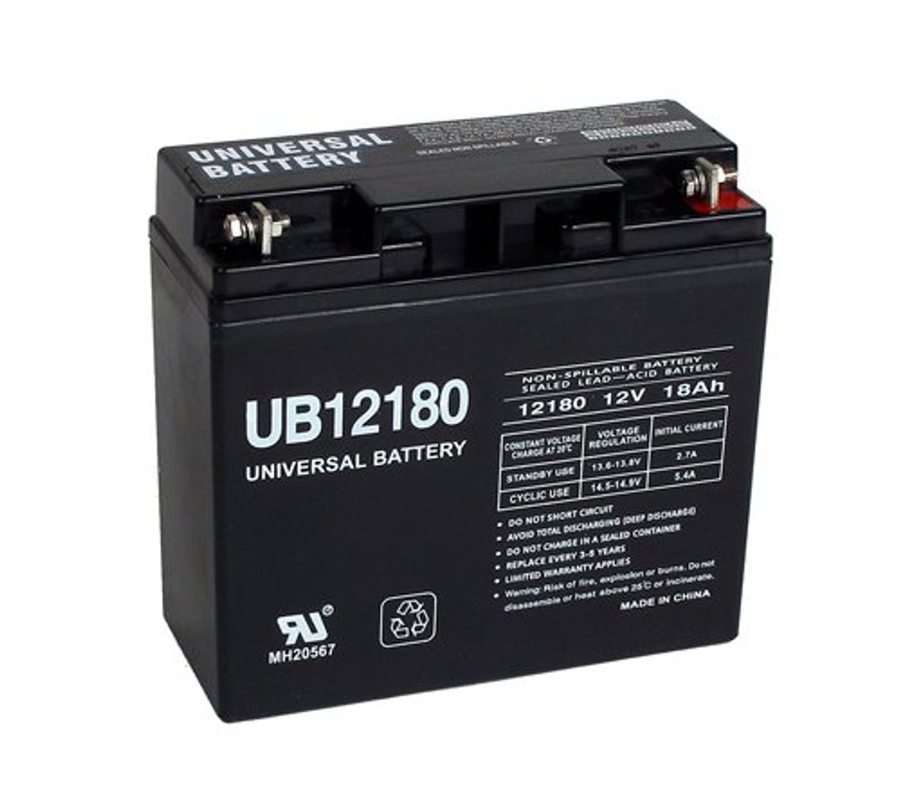 12 Volt 18 Amp Hour Upgrade Battery For Modified Power Wheels New W Warranty Batteryspecialist Ca