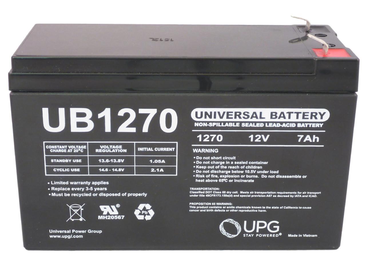 Best Power Fortress LI 1020 BTG-0302 Replacement Battery Set