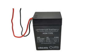 6V 4.5Ah Wire Lead - UB645WL - | Battery Specialist Canada
